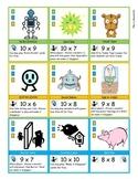 Mathemon Advanced - Multiplication Fact Fluency Card Game