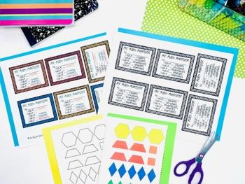 Pattern Block Monsters