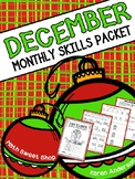 Math Monthly Skills Packet - December Grade 4