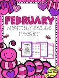 Math Monthly Skills Packet - February Grade 4