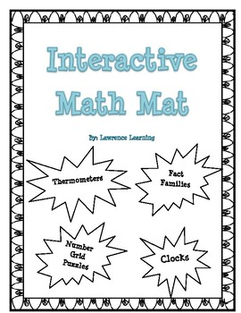 Math Morning Work (Saxon Compatible!)