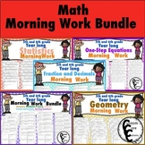 Math Morning Work Bundle