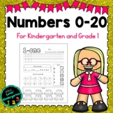 Numbers 0- 20: Kindergarten September Math Morning Work