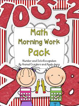 Math Morning Work Pack