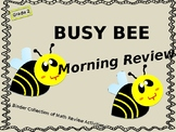 Math Morning Work/Review Binder