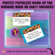 Math Morning Work Warm-Up Task Cards - Perfect for Early F