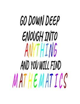 Math Motivational Poster