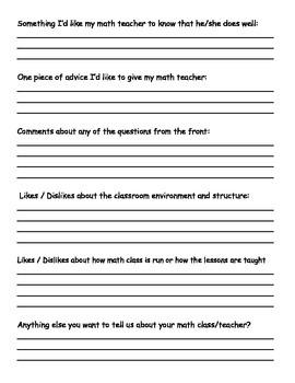 Math Motivational Survey