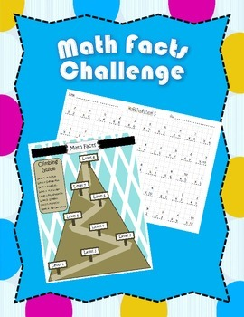 Math Fact Mountain Fluency Challenge