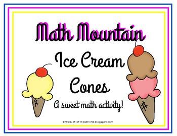 Math Mountain Ice Cream Cones - Full Version