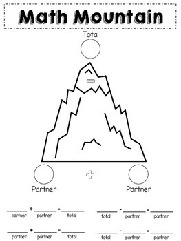 Math Mountain Posters & Wor... by A Slice of First | Teachers Pay ...