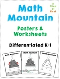 Math Mountain Posters & Worksheets
