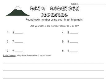Math Mountain Rounding