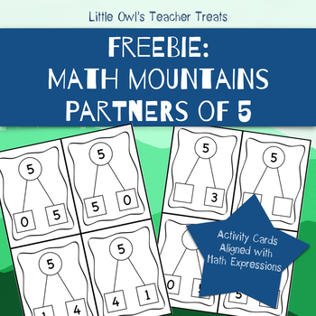 Math Mountains Freebie for Math Expressions