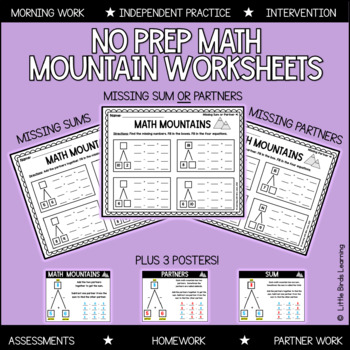 Math Mountains! (Math Expressions Grade 2 Compatible)