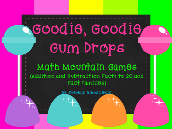 Math Mountains (Fact Families, Addition and Subtraction Within 20, Fluency)