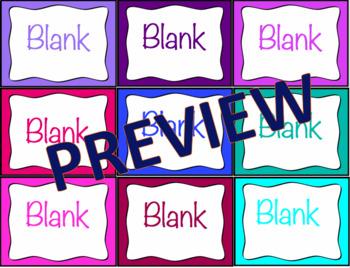 Math Movement Break - Brain Break Task Cards: Editable!