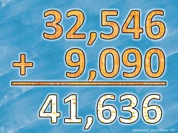 Math Movement (Math Fluency Exercise Break) - ADDITION