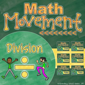 Math Movement (Math Fluency Exercise Break) - DIVISION