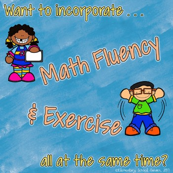 Math Movement (Math Fluency Exercise Break) - BUNDLE 1