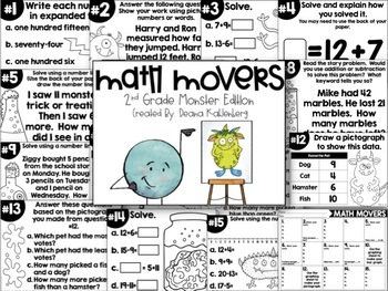 Math Movers {BUNDLE PACK}