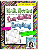 Math Movers Coordinate Graphing Ordered Pairs Game