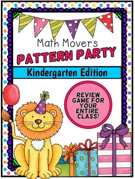Math Movers Pattern Party Game for Your Entire Class!
