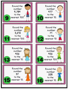 Math Movers Review Games Bundle # 1