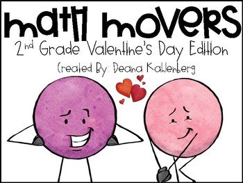 Math Movers: Valentine's Monsters