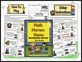 Math Movers Wildlife Edition Math Review Game for Your Entire Class!
