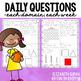 Math Moves: 1st Grade Math Spiral Review