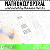 Math Moves: 2nd Grade Math Spiral Review