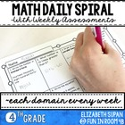 Math Moves: 4th Grade Math Spiral Review