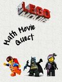 Math Movie Quest- Lego Movie