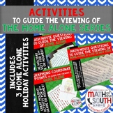 Math Movie Questions & Graphing Coordinate Points - Home Alone Series BUNDLE