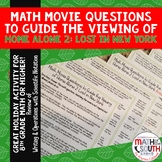 Math Movie Questions to Guide the Viewing of Home Alone 2 Lost in New York