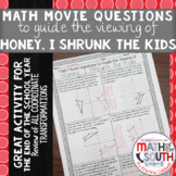 Math Movie Questions to Guide the Viewing of Honey, I Shru