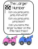 Math Moving Rhymes - Name The Larger Number