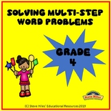 Math Multi-Step Word Problems