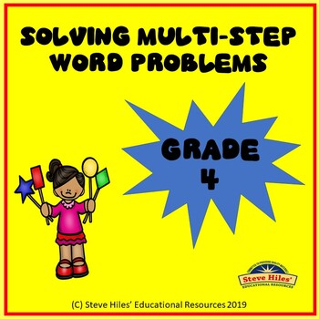 Math Multi-Step Word Problems
