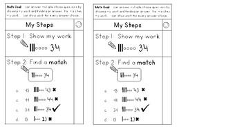 Math Multiple Choice Check