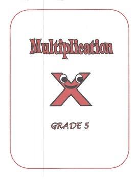 Math - Multiplication (5th grade)
