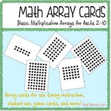 Math Multiplication Array Cards