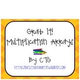 Math Multiplication Array Grab It! Center