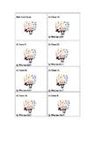 Math Multiplication Flashcards: I have, who has