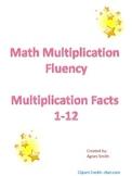 Math Multiplication Fluency