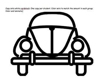 """Math Multiplication Game- """"LIFE"""" with cars and people!"""