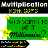 Multiplication Game ~Who Wants To Be a Millionaire?~