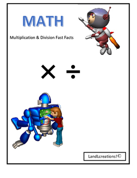 Math: Multiplication and Division Fast Facts