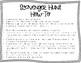 Math - Multiplying Fractions Scavenger Hunt